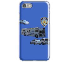 NYPD 3 iPhone Case/Skin