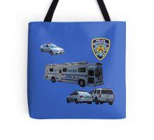NYPD 3 Tote Bag