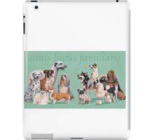 Dog Breed - canis lupus familiaris iPad Case/Skin