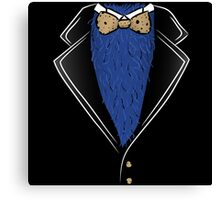 Cookie Formal tux shirt Canvas Print