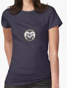 Colorado State University (mountains) Womens Fitted T-Shirt