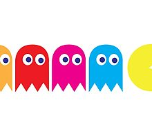 Pac Man by Adrian Richardson