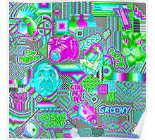 pixel mess Poster