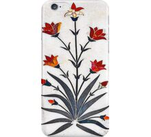 Marble Work at Agra Red Fort  iPhone Case/Skin