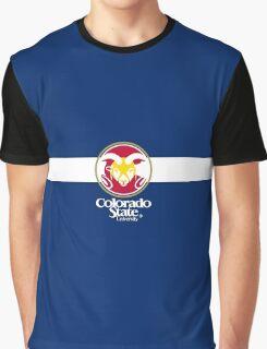 Colorado State University / Colorado Flag + Graphic T-Shirt