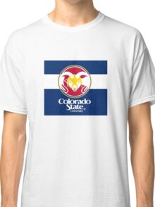 Colorado State University / Colorado Flag + Classic T-Shirt