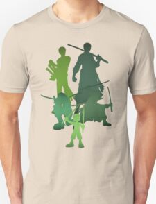 Roronoa Zoro (One Piece) - Vertical edition T-Shirt