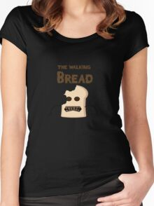 the walking bread Women's Fitted Scoop T-Shirt