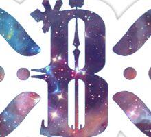basstwin galaxy Sticker