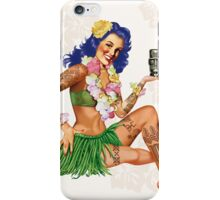 Hawaiian Pin-up iPhone Case/Skin