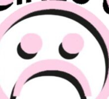 sad girls club Sticker