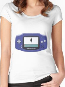 Skye Evolved Into Daisy! - GBA Version Women's Fitted Scoop T-Shirt