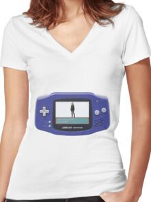 Skye Evolved Into Daisy! - GBA Version Women's Fitted V-Neck T-Shirt