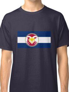 Colorado State University / Colorado Flag - Classic T-Shirt