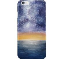 Nightscape - Where the Milky Way meets the Sea iPhone Case/Skin