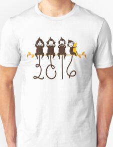 Monkeys 2016 New Year T-Shirt