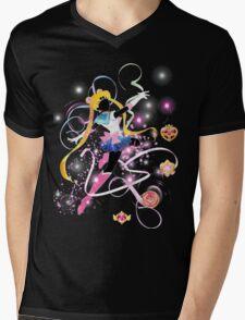 Sailor Moon Mens V-Neck T-Shirt