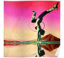 Desert Yoga Poster