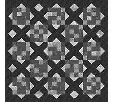 Charcoal tiles Photographic Print