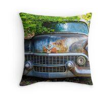 Classic Cadillac Throw Pillow