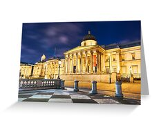 National Gallery in London, UK Greeting Card