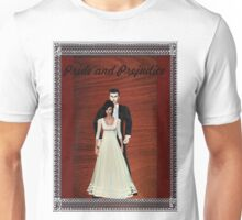 Pride and Prejudice Darcy and Lizzy Unisex T-Shirt