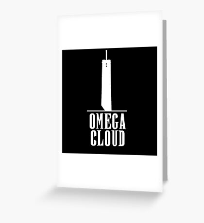 Omega Cloud - FF7  Greeting Card