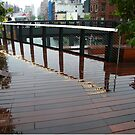 High Line After a Rain, New York City's Elevated Garden and Park by lenspiro