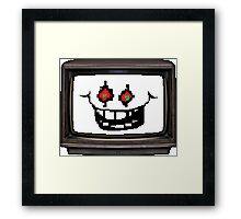 Flowey tv Framed Print