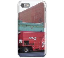 Coca Cola Comes to the Wild West  iPhone Case/Skin