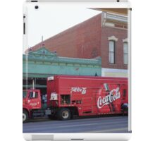 Coca Cola Comes to the Wild West  iPad Case/Skin