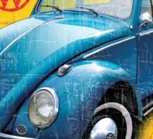 VW beetle authorized service Sticker