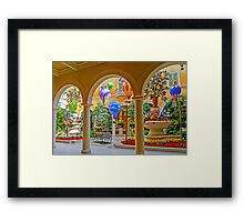 Welcome to The Bellagio - Las Vegas - Nevada USA Framed Print