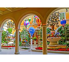 Welcome to The Bellagio - Las Vegas - Nevada USA Photographic Print