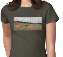 Dog Breed - the Greyhound Womens Fitted T-Shirt
