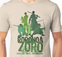 Roronoa Zoro (One Piece) - Words edition Unisex T-Shirt