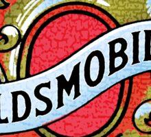 Vintage oldsmobile logo Sticker