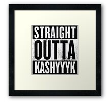 Straight Outta Kashyyyk Framed Print