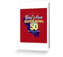 Super Bowl 50 II Greeting Card