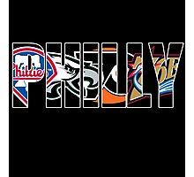 Philadelphia sports mash up Photographic Print