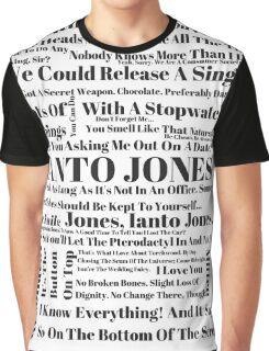 Ianto Jones Quotes Graphic T-Shirt