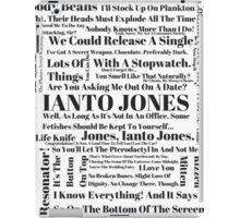 Ianto Jones Quotes iPad Case/Skin