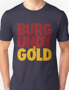 Burgundy & Gold Redskins DC Football by AiReal Apparel T-Shirt