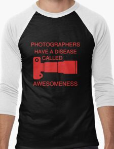 PHOTOGRAPHERS AWESOMNESS Men's Baseball ¾ T-Shirt