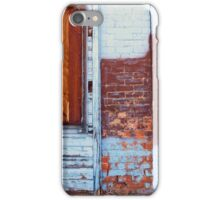 Closed Up Boarded Up  iPhone Case/Skin
