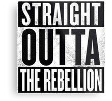 Straight Outta The Rebellion Metal Print