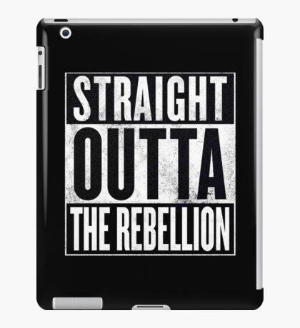 Straight Outta The Rebellion iPad Case/Skin
