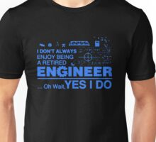 Retired Engineer T-shirt Unisex T-Shirt