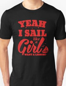 Sail Like a Girl Unisex T-Shirt