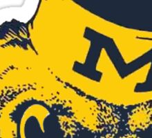 Wolverines! Sticker